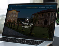 COUNTRYSPA RETREAT - WEB DESIGN & WEB DEVELOPMENT
