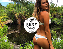 The Surfing Spots - Emblems & Logos