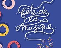 Fête de la musique 2019 | Visual identity