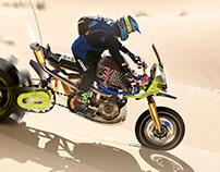 Dakar Sandbike