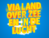 Via land, over zee en in de lucht