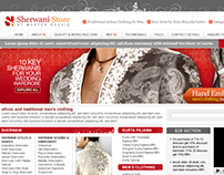 SHERWANISTORE.COM - Men's traditional indian clothing