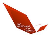 100 Mexicanos Por México LOGO