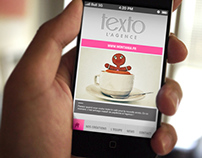 App Android & IOS for Agence Texto