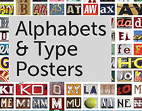Alphabets & Type Posters