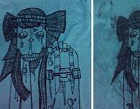 shirt doodling
