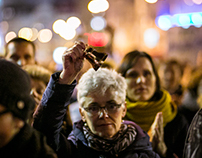 Teachers' strike / Bratislava / Slovakia