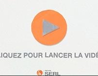 Vidéo : Stop motion voeux 2013 SERL signée Comète