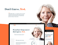 Don't Guess. Test. - Website Design
