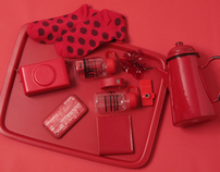 Color collection red