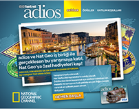 NatGeo & Adios Card - Travel Trivia Game