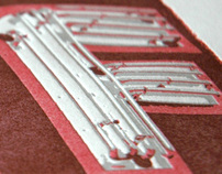 Urban Typography Project Letterpress Prints II