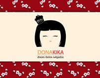 Identidade Visual - Dona Kika Doces