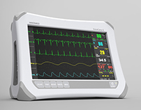 Patient monitor for Innomed Medical