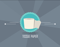 Info Motion Graphic | Tissue Paper