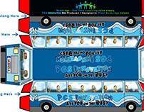 Papercraft Bus Model