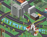 Mapa Medellín Car Festival