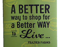 Frazier Farms Supermarket Banner/Poster
