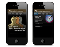 Sports Medicine Shoulder Mobile Site