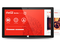 CocaCola Smile World / Windows 8