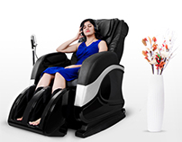 Shoot for Hinata massage chairs