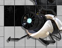 3D Modelling - Handheld Portal Gun
