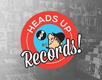 Heads Up Records - Shirt/Tank Design