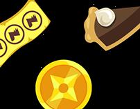 UI/UX Mobile Game App Designs part.1