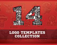 $14 For 14 Mascot Logo Templates