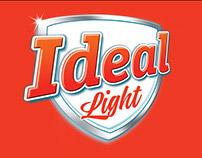 Diseño de Packaging leche Ideal Light