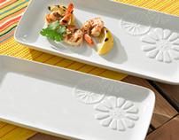 New Appetizer & Serving Plates