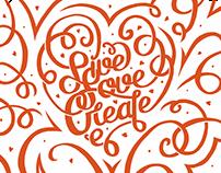 Live Love Create - Poster