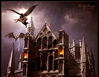 Dark Skies Over Hallowed Ground – Photo Manipulation