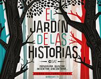 """POSTCARD """"EL JARDIN DE LAS HISTORIAS"""""""