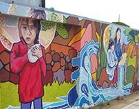 Mural Escuela Especial Vallenar. 2015