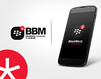 Blackberry Messenger for android phones