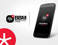 Blackberry Messenger for android phones
