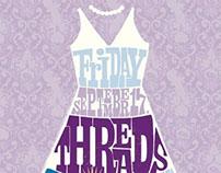 Threads & Ice Fashion Show Invite