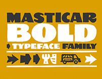Masticar Bold – Typeface Family