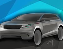 Range Rover Velar rendering