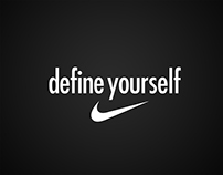 NIKE DEFINE YOURSELF Campaign