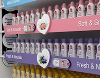 Cussons Baby - Product Stand