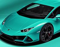 Lamborghini Huracan EVO Turchese