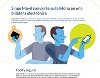Sinpe Móvil convierte su teléfono en una billetera elec