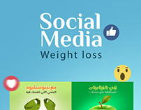 Social Media ( Weight loss )