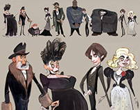 Penny Dreadful character design