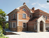 Family House - 3D Visualization