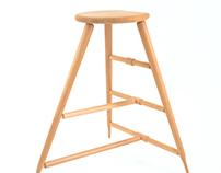 Apple picking stool