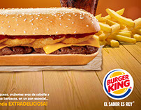 BURGER KING- HAMBURGUESA EXTRA LONG