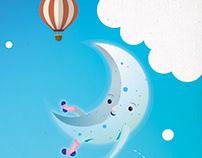 Illustration for children´s education book